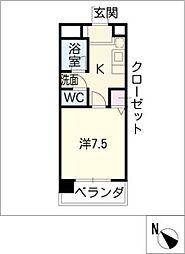 ドエルマルモ303[2階]の間取り