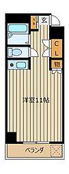 ハウス上福岡[5階]の間取り