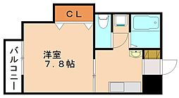 サンコーポ日野[2階]の間取り