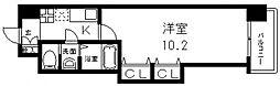 Luxe(ラグゼ)布施北II[1106号室号室]の間取り
