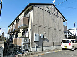 滋賀県甲賀市水口町南林口の賃貸アパートの外観
