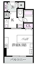コンフォート荻窪[3階]の間取り