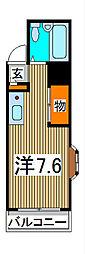 ライオンズマンション西川口第7[3階]の間取り