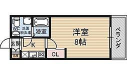 SERENITE新大阪[11階]の間取り