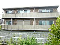 静岡県磐田市福田の賃貸アパートの外観