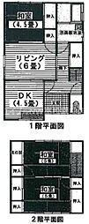[一戸建] 香川県高松市木太町 の賃貸【香川県 / 高松市】の間取り