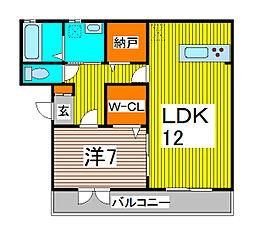 windward[3階]の間取り