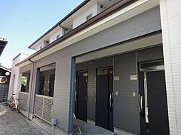 京都府京都市右京区西院松井町の賃貸アパートの外観