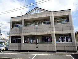岡山県岡山市中区神下の賃貸アパートの外観