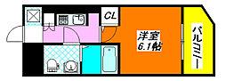 セレニテ・高井田 1007号室[10階]の間取り