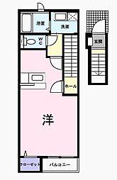 ベルコモンズ小金井[2階]の間取り