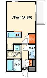 DS OHSUMI[1階]の間取り