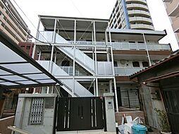 埼玉県草加市住吉1丁目の賃貸マンションの外観