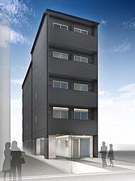 仮)西院平町新築マンション[501号室]の外観
