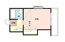 ライブコア南浦和A棟[1階]の間取り