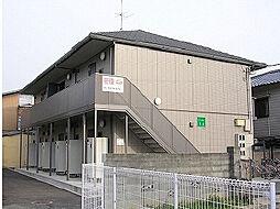 愛媛県松山市立花1丁目の賃貸アパートの外観
