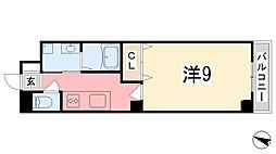 AXIO[303号室]の間取り
