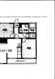 メゾンデプラージュ[304号室]の間取り