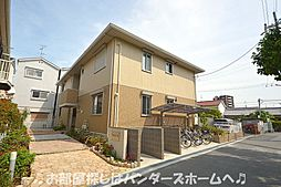 大阪府枚方市伊加賀栄町の賃貸アパートの外観