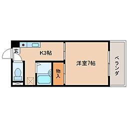 静岡県静岡市清水区清水町の賃貸マンションの間取り