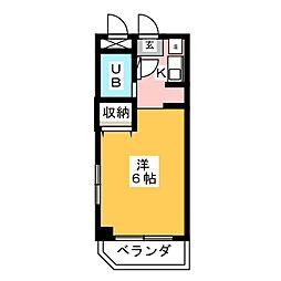 BELLE TOPIA 稲沢 III[1階]の間取り
