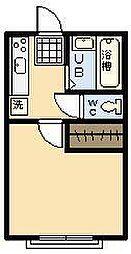 川崎アパート[101号室]の間取り