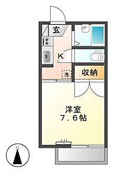 フレグランスライム[2階]の間取り