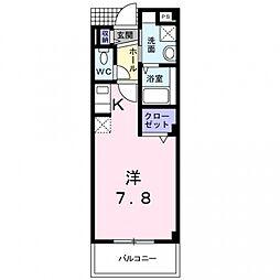 T・コート21[1階]の間取り