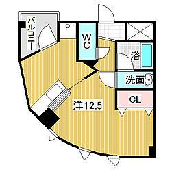 愛知県名古屋市中川区太平通5丁目の賃貸マンションの間取り