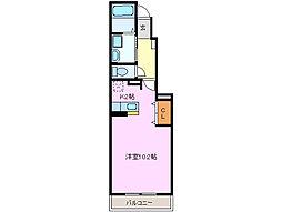 三重県四日市市ときわ5丁目の賃貸アパートの間取り