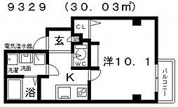 エヌエムサンカンテドゥ[1FB号室号室]の間取り