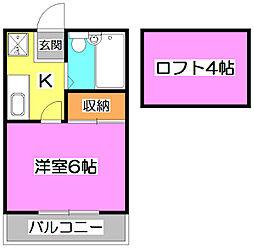 メゾン373[1階]の間取り