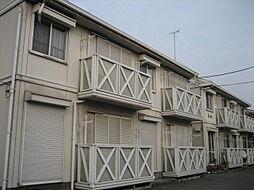 栃木県宇都宮市末広2丁目の賃貸アパートの外観
