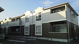 山梨県甲府市下飯田4丁目の賃貸アパートの外観