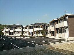 広島県福山市津之郷町大字津之郷の賃貸アパートの外観