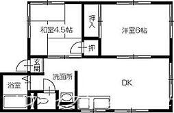 シティハイム松浦[1階]の間取り