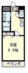 Grand CYGNUS[4階]の間取り