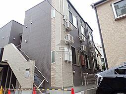 東京都足立区梅田2丁目の賃貸アパートの外観