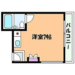 兵庫県神戸市灘区深田町3丁目の賃貸マンションの間取り