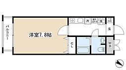 ダイドーメゾン神戸元町[1002号室]の間取り