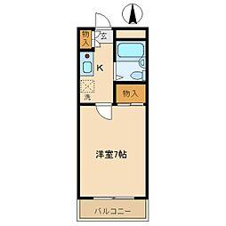 ユニテック武庫之荘[405号室]の間取り