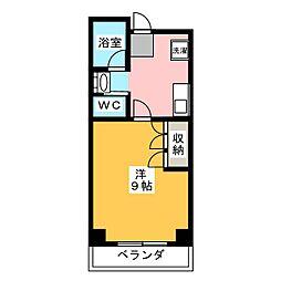 小坂マンション[6階]の間取り