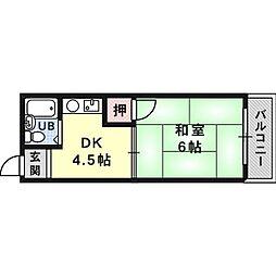 臼井ビル[2階]の間取り