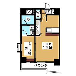 バリューIII[6階]の間取り