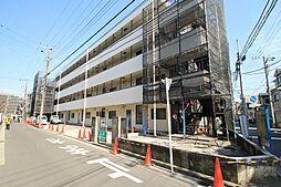 神奈川県横浜市鶴見区朝日町2丁目の賃貸マンションの外観