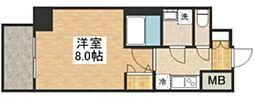 S-RESIDENCE江坂Alegria[6階]の間取り