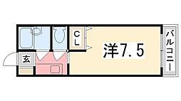 メゾン立花[208号室]の間取り