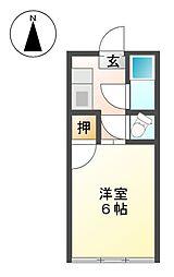 比良政ビル[3階]の間取り