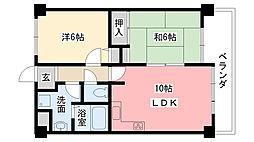 加藤マンション[3階]の間取り