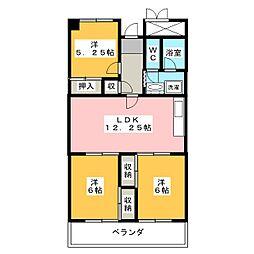 セントラルレジデンス相生苑[7階]の間取り